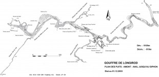 Gouffre du Pré de Rolle/Longirod - 7 avril 2012