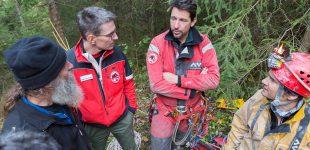 Exercice spéléo-secours régions 2 et 3 7-8.10.2017